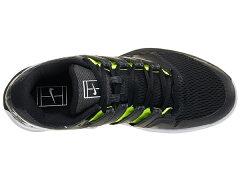 ナイキメンズテニスシューズエアズームヴェイパーXHCPRM(ハード・オールコート用)ブラック×ホワイト×ボルトグロウ(AV3911・001)
