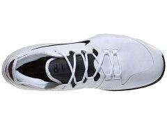 ナイキメンズテニスシューズコートエアマックスワイルドカードHC(ハード・オールコート用)ホワイト×ブラック×ホワイト(AO7351・100)