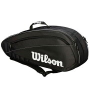 ウィルソンテニスラケットバッグFEDTEAM6PACK(ラケット6本収納可能)(WRZ834806)