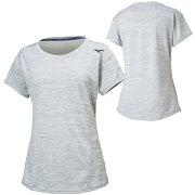 ミズノレディーストレーニングウェアTシャツ(32MA9311)