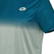 ロットメンズテニスウェアクルーシャツ(T3281)