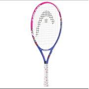 ヘッドジュニアテニスラケットマリア23ピンク×ブルー(ガット張上げ済)(233418)