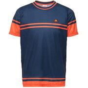 【SALE】エレッセメンズテニスウェアクルーネックシャツ(ETS06100)