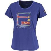 【SALE】フィラレディーステニスウェアグラフィックTシャツ(VL1851)