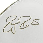 ウィルソンテニスラケットバッグFEDERERDNA12PACKホワイト×ゴールド(ラケット12本収納可能)(WR8004401001)