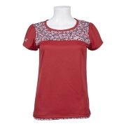 バボラレディーステニスウェアショートスリーブTシャツ(BTWOJA11)