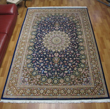 ペルシャ絨毯・クムシルク100% モハンマディ 297×200cm