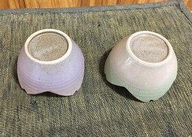 秋麗四片輪花小鉢【2色セット】