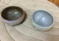 雪化粧原土焼物皿(小)