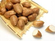 アピオス別称:ほど芋〈ホドイモ〉1パック、100g前後、8〜15個前後