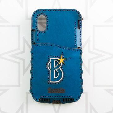 横浜DeNAベイスターズ Bロゴ iPhone Xケース (Pocket Type)