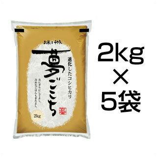令和2年(2020年) 石川県産 夢ごこち 10kg(2kg×5袋) 白米【送料無料...