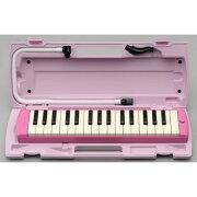 ヤマハ鍵盤ハーモニカピアニカ32鍵ピンクP-32EP