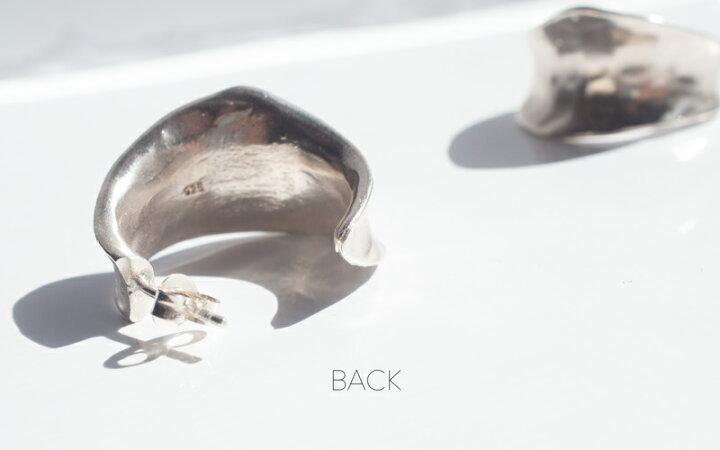 【雑誌掲載アイテム】【初回瞬殺で完売】シルバー925フープピアス【CORNETTOコルネ】変色防止仕上げ両耳用silver925内反り金属アレルギー安心ピアスレディースジュエリーアクセサリーキャッチピアス秋冬