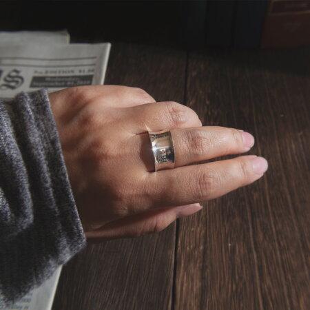 【早割SALE6/15から2980円】シルバーリング【LUKKルク】レディース用silver925リング925silverシルバー925デザインリングカジュアルフォーマル金属アレルギー安心指輪幅広幅太ワイドレディースジュエリーアクセサリー内反り地金