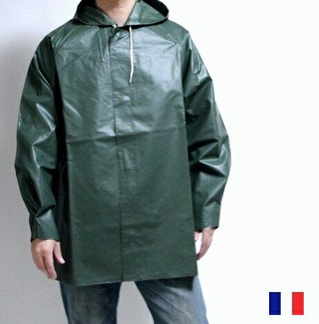 フランス軍 希少 レイン パーカー ジャケット Vetements Royal Hunter / 防水 フード コート / レ...