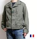【SALE】 フランス軍 F1 ジャケット ユーズド 【中古】 ブルゾン アウター / エアフォース ミリタリー
