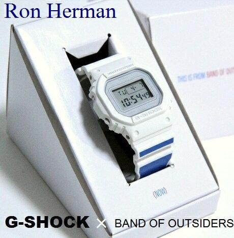 腕時計, メンズ腕時計 G-SHOCK BAND OF OUTSIDERS Ron Herman DW-5600VT