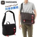 ショルダーバッグボディバッグメンズ斜めがけ軽いビジネスバッグ出張メンズバッグレディース斜めがけバッグメッセンジャーバッグおしゃれ通勤鞄防水送料無料SWISSWINSWE3011