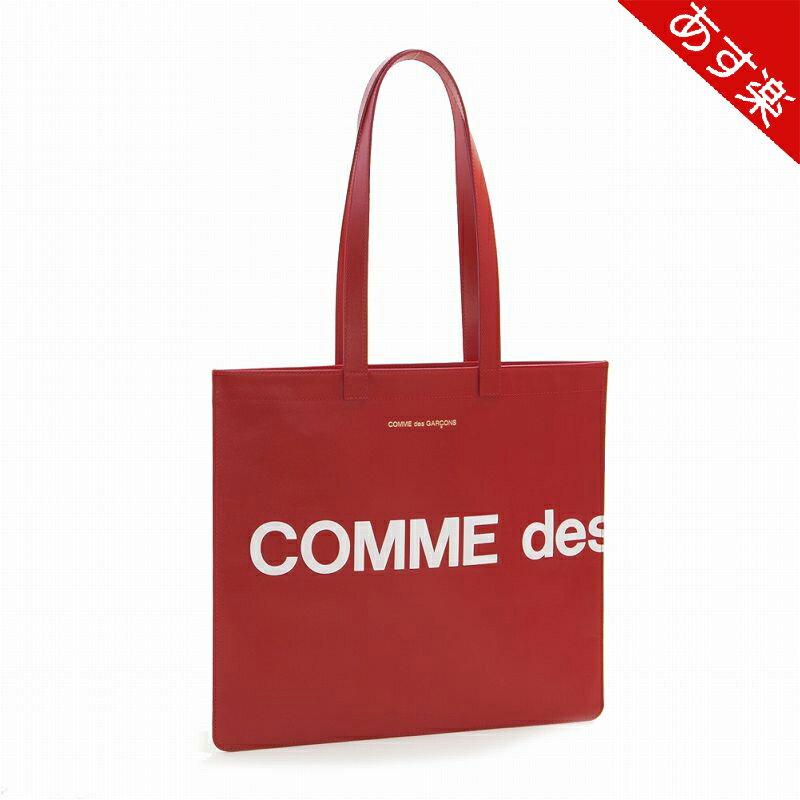 メンズバッグ, トートバッグ 2020 HUGE LOGO TOTE BAG SA9001HL RED COMME des GARCONS