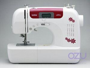 ブラザーコンピュータミシンHS110(ワインレッド)