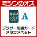 ブラザーミシン用 刺繍カード ABCのスケッチブック ECD001 [BR094]