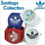 【今月の特価商品】adidas時計[アディダス腕時計]adidasoriginals腕時計[アディダスオリジナルス時計]adidasoriginals腕時計[アディダス時計]adidas時計サンティアゴSANTIAGOメンズ/レディース/白[シリコンベルト/人気/新作/防水/マルチカラー]