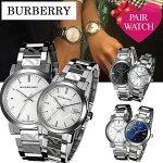 ペアウォッチバーバリー腕時計[BURBERRY腕時計]バーバリー時計ペア[BURBERRY時計]メンズ/レディース[イギリス/バーバリーチェック柄/メタルベルト/ブランド/恋人/プレゼント/ギフト/カップル/ペアウォッチ/お揃い/人気/夫婦/ペアルック/記念/結婚][送料無料]