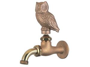 【水栓柱や壁付け水栓】万能ホーム胴長水栓(フクロウ)|ガーデニング蛇口【05P01Mar16】
