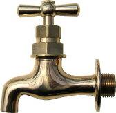 701-011-13 【レトロ水栓】レトロ横水栓Newタイプ|ガーデニングの蛇口【05P03Dec16】