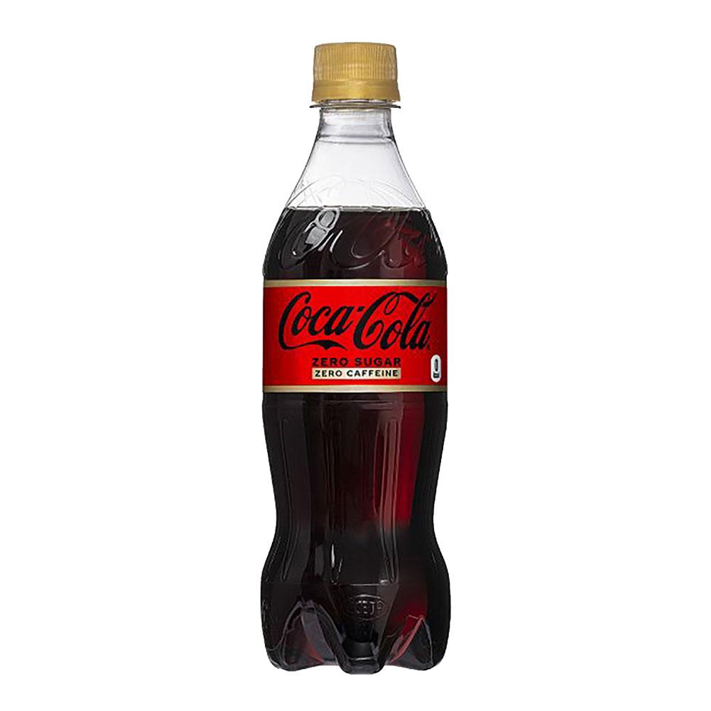 【送料無料】コカ・コーラゼロカフェイン 500mlPET 2ケース 48本 販売※のし・ギフト包装不可※コカ・コーラ製品以外との同梱不可