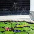 【濾過装置搭載】ソーラーパネル で省エネ☆ ソーラーミニ噴水スペシャルセット お庭のプチ噴水つくりに最適 噴水の最大高45cmまで 池でも使えるソーラー池ポンプ 【P25Apr15】