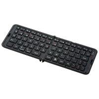 【送料無料】スリム Bluetooth3.0 折りたたみ式キーボード☆ブラックorホワイトForiPad air2 / ipad mini4 / ipad pro 9.7 / ASUS / Lenovo / ACER / SONY / 東芝 / Samsung など iOS / Android タブレットPC ・ スマートフォン