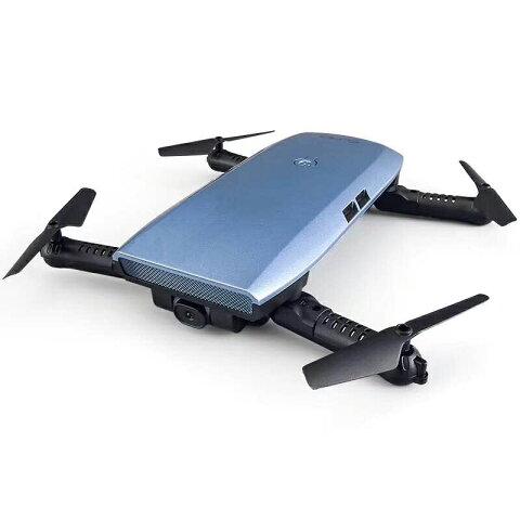 【あす楽】【送料無料】H47 Elfie+ ポケット折り畳み セルフィードローン Wifi 720Pカメラ付き☆iOS&Androidでリアルタイム生中継可能 ☆Gセンサモードと高度保持機能搭載
