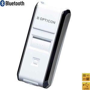 【オプトエレクトロニクス】Bluetooth2次元バーコードスキャナOPN-3102i-WHTGS1・iOS対応(MFi認証)白