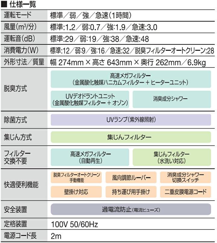富士通ゼネラル プラズィオン HDS-302C Plazion 人気の集じん機能付 ペット臭 消臭 脱臭機