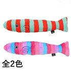 カラフルさかなキャットニップ入り【IDOG&ICAT】猫おもちゃカラフルペットオレンジ×グリーンピンク×ブルー