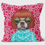 PETS ROCK(ペッツロック)クッションカバー【Spots】【公式オンラインストア】 We Love Cushions takkoda ペット セレブ 有名人 犬 猫 ドッグ キャット レディース