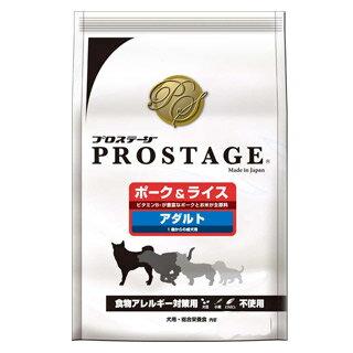 【プロステージ】ポーク&ライス小粒 アダルト 6.4kg