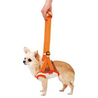 【ペティオ】老犬介護用 歩行補助ハーネス 前足用K S