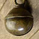 アニマルベル インド アンティーク 古鈴 一点物 真鍮製 MGD-O-BELL-242