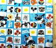 <キャラクター生地・布>ひつじのショーン(こひつじのティミー・ブルー)【キャラクター】【生地】【布】【キャラクター生地】