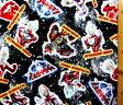 <キャラクター生地・布>ウルトラマンギンガ(黒)【キャラクター】【生地】【布】【キャラクター生地】