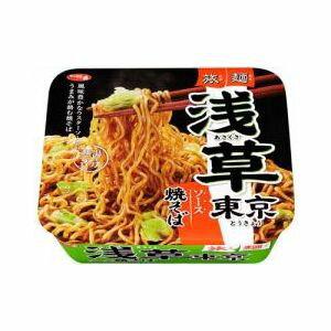 サンヨー食品 サッポロ一番 旅麺 浅草ソース焼そば  12入