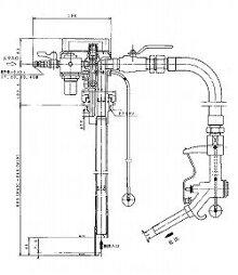 ドラム缶用防爆型エアプレッシャ式ポンプAPD−20GN(ガソリン用)