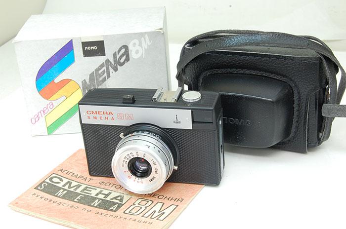 フィルムカメラ, フィルム一眼レフカメラ SMENA 8 M 8M