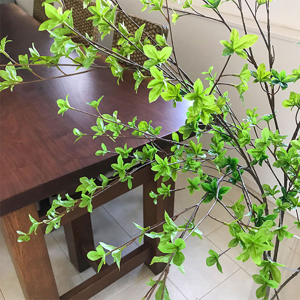 ドウダンツツジ フレッシュグリーン H115 フェイクグリーン 人工観葉植物 造花 PRIMA | インテリア 観葉植物 人工 アーティフィシャルグリーン フラワーアレンジメント 枝 アレンジ フェイク アートフラワー シルクフラワー おしゃれ 新生活応援