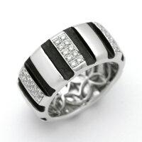 K18WGダイヤモンド0.31ctリング