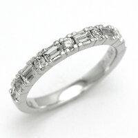 ダイヤモンドリングK18WGダイヤモンド0.49ct