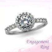 婚約指輪 プラチナ ダイヤモンドエンゲージリング 0.50ctUP Dカラー IF トリプルエクセレントカット GIA鑑定